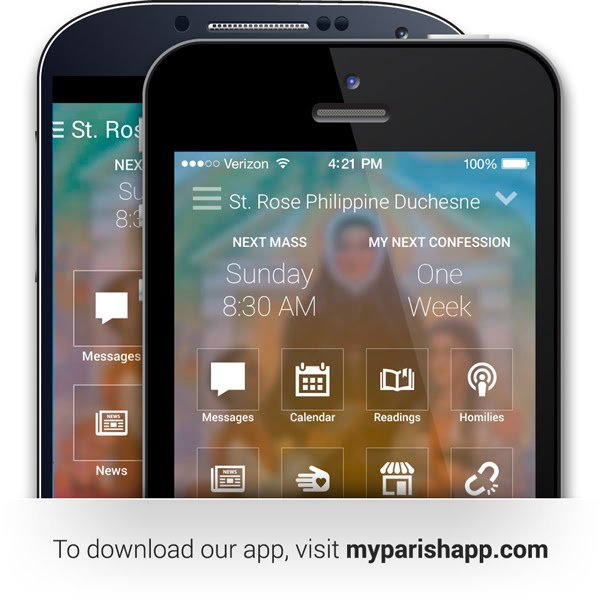 Download our new free parish mobile app!